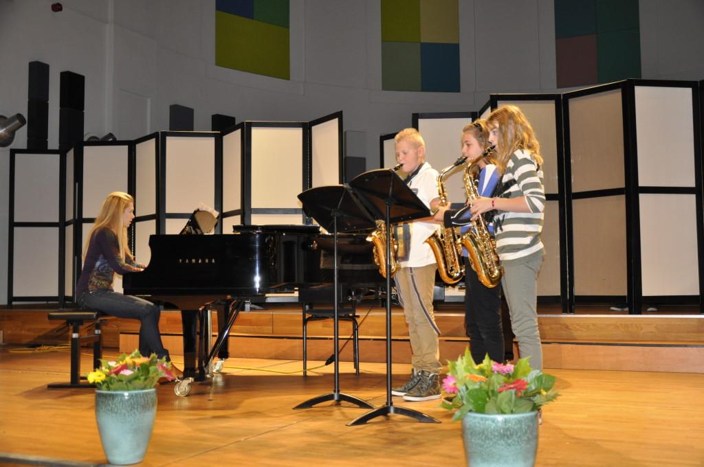 NK Utrecht jeugddivisie ensemble. Joep, Ellen, Milou en Ankie